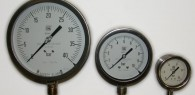 Industrial pressure gauges (full stainless steel)